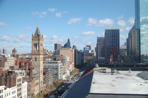 defective-product:  Boston, MA from the Lenox hotel on Flickr.