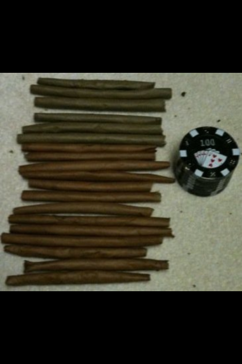Blunts, blunts, and more blunts.