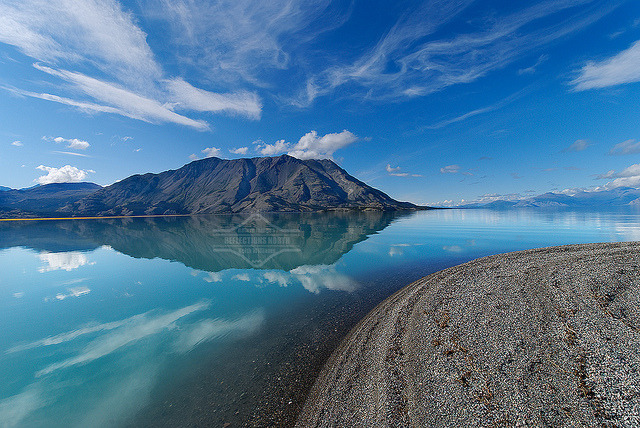 Kluane Lake by kdee64 on Flickr.