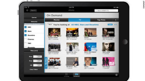 Comcast to bring restricted live TV to the iPad  This would be nice to watch TV out in the yard, but other than that we have televisions throughout our house, why would we be watching on our iPad?!    I am using my iPad for other activities while viewing shows!   Anyone have a take on this???   (via Comcast to bring restricted live TV to the iPad - CNN.com)