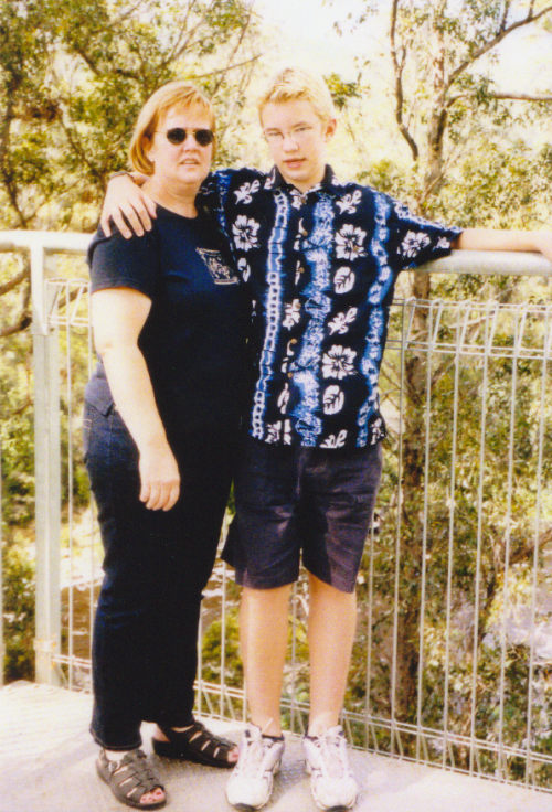 Btw guys, when I was 13 I was a lesbian.[edit]oh yeah and that's my mum, too.
