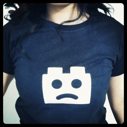 Sad Brick shirt, courtesy of Firefox UX team. be jealous!