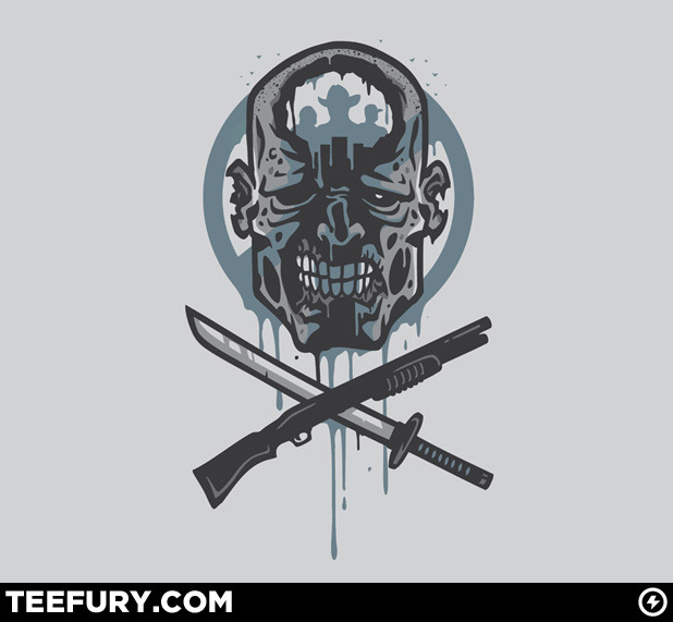 Limited Edition Tshirt: Dead Men Walking by WinterArtwork is on sale for $10 from TeeFury for 24 hours only.
