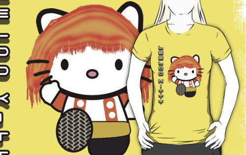 """Leeloo Kitty"" T-Shirts & Hoodies by Anthony Pipitone 