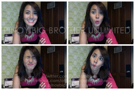 Bianca Gonzalez having fun with photobooth :)