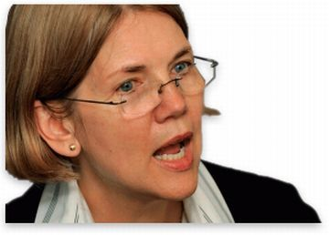 goodreasonnews:  politicsplus:  Elizabeth Warren Next?     I know it's a little early  to be talking about 2016, but there is nobody I would rather see run for  the Democratic nomination than Elizabeth Warren.  As President she  would offer all of the many positive attributes of the Obama  administration with few, if any, of the shortcomings.  There is no  politician that Banksters fear more… (video)    I can get behind this.  Even just having her run would benefit the country because of the direction she would take the national debate.