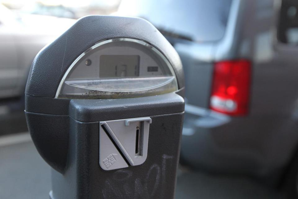 Giving drivers a new way to feed the meter - Mayor Thomas Menino will introduce a parking debit card today to give drivers another option at 7,200 Boston meters that until now were coin-only.