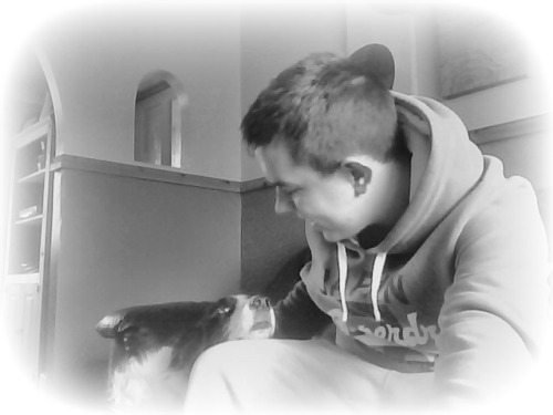 N'awww, I love my dog! :3