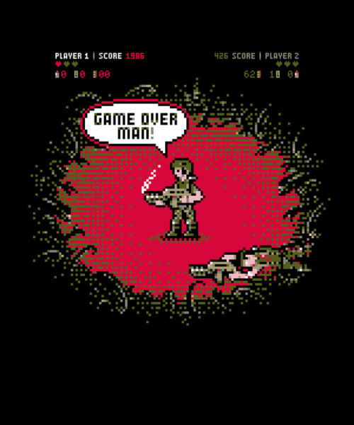 Game Over by Barn Bocock. Prints available here!