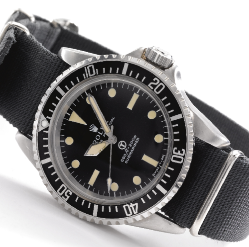 hodinkee:  One of the rarest Rolex watches on earth. Yes, it's a MilSub, but not just any MilSub. Read the full story here.  Wow wow wow.