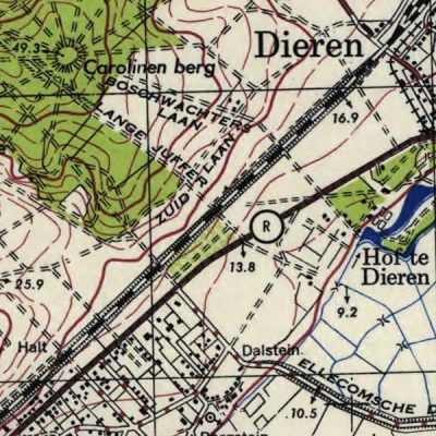 Map: Dutch Topo maps from the U.S. Army (1944) originally posted to the BIG Map Blog.