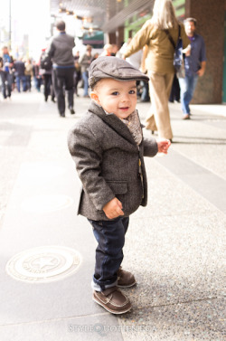 insideindie:  Obviously the only way to dress a baby boy for fall.