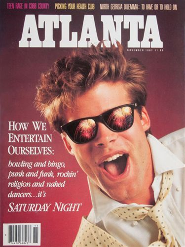 Cover of the Day: November 1987 He wears his sunglasses at night. (You know the rest.)