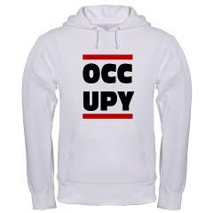 OCCUPY: Hooded Sweatshirt Occupy Gear to show your support for Occupy Wall Street (via OCCUPY)