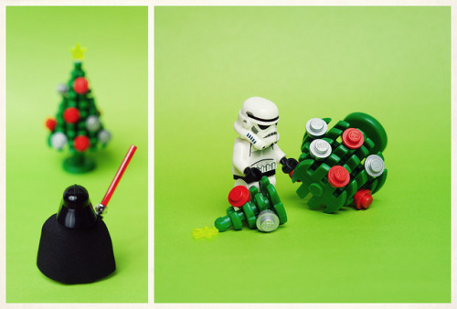 Inappropriate by Balakov on Flickr.Via Flickr: The Empire does not celebrate Christmas. Now get back to your post, TK-421.