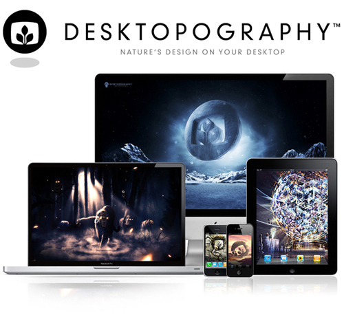The new 2011 exhibition of my project Desktopography has just been released, 44 new desktop wallpapers! Please check it out, reblog and spread the word!