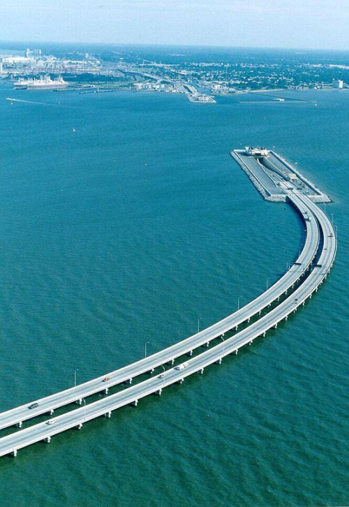 gummed:  A bridge between Sweden and Denmark goes unerground and becomes a tunnel to allow ship passage.