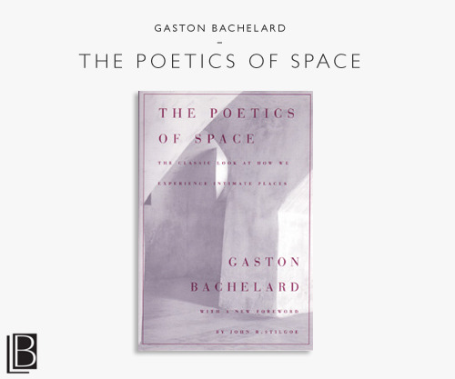 The Poetics of Spaceby Gaston BachelardBeacon Press