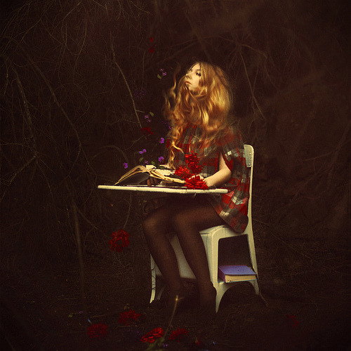 abreathingtimemachine:  Brooke Shaden