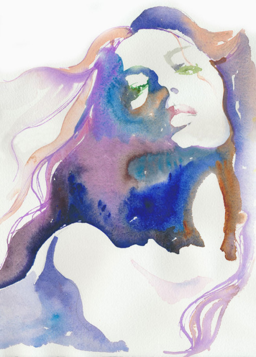 Watercolour Fashion Illustration  By Cate Parr