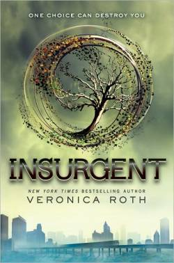 Insurgent by Veronica Roth. One choice can transform you—or it  can destroy you. But every choice has consequences, and as unrest  surges in the factions all around her, Tris Prior must continue trying  to save those she loves—and herself—while grappling with haunting  questions of grief and forgiveness, identity and loyalty, politics and  love. Tris's initiation day should have  been marked by celebration and victory with her chosen faction; instead,  the day ended with unspeakable horrors. War now looms as conflict  between the factions and their ideologies grows. And in times of war,  sides must be chosen, secrets will emerge, and choices will become even  more irrevocable—and even more powerful. Transformed by her own  decisions but also by haunting grief and guilt, radical new discoveries,  and shifting relationships, Tris must fully embrace her Divergence,  even if she does not know what she may lose by doing so.