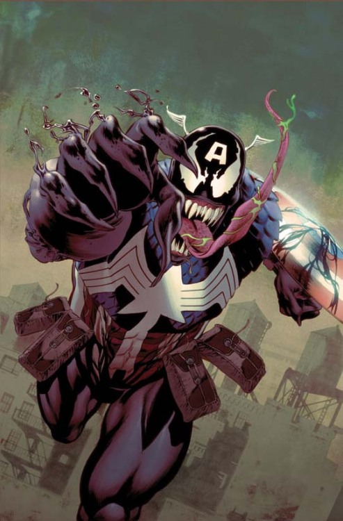Marvel Comics has unveiled new Venom Variant Covers which show various characters infected with the alien symbiote. These covers will begin appearing across its comics line to celebrate the 'Venom: Circle of Four' event. SEE MORE COVERS & GET MORE INFO FROM MARVEL HERE: http://bit.ly/sr4eqL