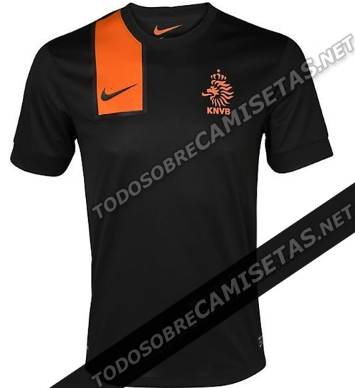 soccer-in-heels:  Rumored Nike Euro 2012 Kits: France, Netherlands, Portugal. Plus Brazil's WC Qualifying kit.  Right, so we don't know how legit these leaked kits are. But, we'll evaluate them anyways.   France's looks sort of like they took the stripes from the 2011 away and threw it on to the home kit. They're not bad but, they're not spectacular either.   Netherlands, actually we sort of like them. There could never be any doubt than the home kit would be orange. The geometric shapes make both home & away interesting.  Portugal, not a huge change from the current home shirt. We like the away a lot though.  Brazil, They got rid of the loading bar across their chest! Love the shade of blue on the away as well.   What do you all think?  France: Don't change! Your current kits are wonderful! What are you doing?! Netherlands: Home is interesting (could grow on me), away looks like a training kit; they should've kept the orange stripe going all the way down. Portugal: No. Just no. Home is too simple (but may grow on me). Away just isn't working for me. Brazil: …
