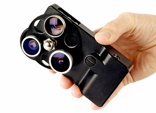 nevver:  Photojojo iPhone Camera Lens Dial Case