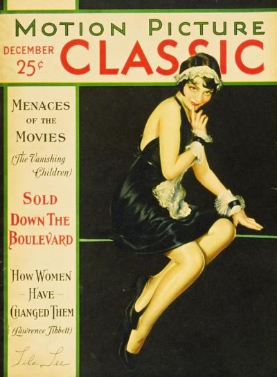 Lila Lee on the cover of Motion Picture Classic December 1930