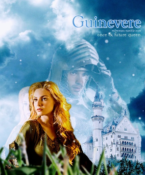 Guinevere and Lancelot Merlin-Camelot