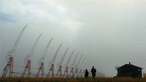 Michelangelo Antonioni, Il deserto rosso (from Antonioni's Environments) More Antonioni. More film stills.