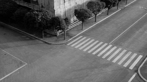Michelangelo Antonioni, L'eclisse (from Antonioni's Environments) More Antonioni. More film stills.