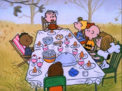 nevver:  Franklin gets no love, A Charlie Brown Thanksgiving