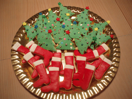 BOLACHAS DE NATAL/CHRISTMAS COOKIES by fati dream cakes on Flickr.