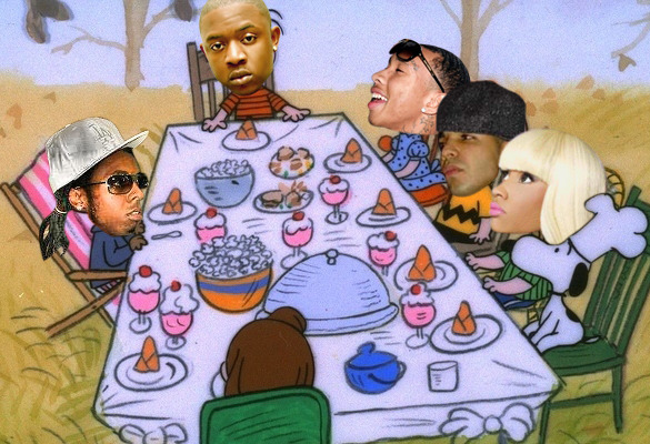 Happy Thanksgiving from Young Money.