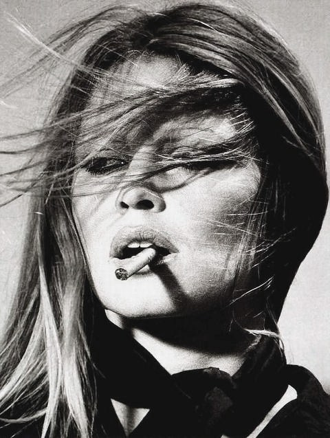 Brigitte Bardot, shot by Terry O'Neill.