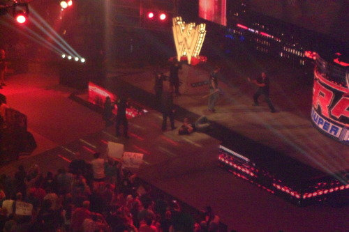 Oh yeah, did I mention I saw Nash beat HHH with a sledgehammer a few weeks back?