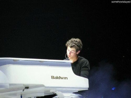 Nick looks so thoughtful. ♥