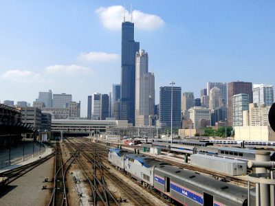 U.S. awards another $150 million for Chicago high-speed rail: The U.S. Department of Transportation Tuesday announced it is granting $150 million to the Michigan Department of Transportation for the line used for Amtrak service between Chicago and Detroit. Credit: chollsjr / Flickr