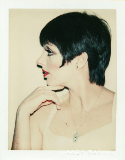 beingblue:  Liza by Andy Warhol, 1977.
