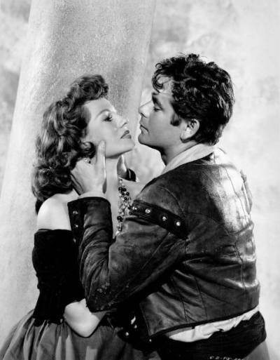 Rita Hayworth and Glenn Ford in The Loves of Carmen