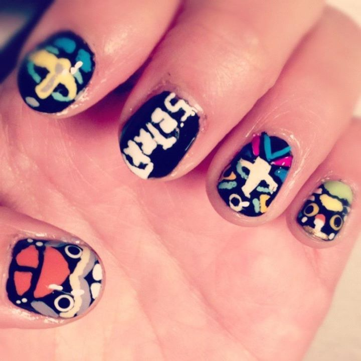 My girl's A.M.'s SBTRKT Nails did