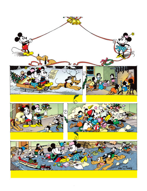 Mickey Mouse Restored Christmas Page - So I made more deviant  art uploads of new and old stuff! Rather than retype all the info here,  I'll just link you to the corresponding DevArt page. As always, comments  and critiques are welcome. :)