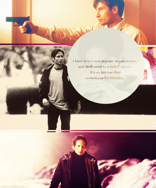 7 Day Fox Mulder Appreciation Challenge | Day 1: one thing I love about him