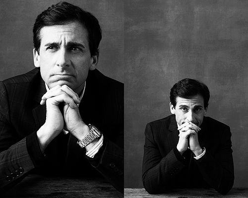 Steve Carell by Robert Ascroft.