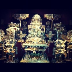 The Throne of the Third Heaven of the Nations' Millennium General Assembly - James Hampton  (Taken with instagram)
