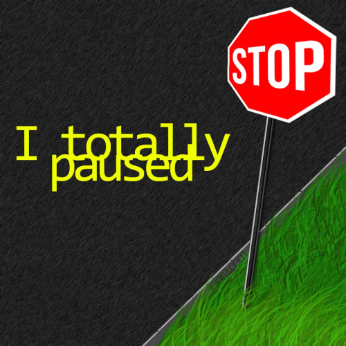 """I totally paused."""