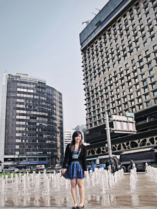Walking on water  Photo taken by my friend TaehoonCity Hall, Seoul, South KoreaOctober 2010 © *Wanderrgirl