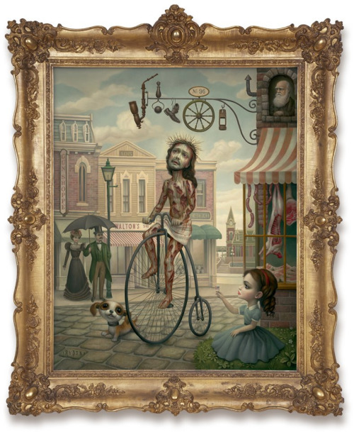 nightshiftsister:  Mark Ryden  holy christ on a bike, there're new mark rydens?