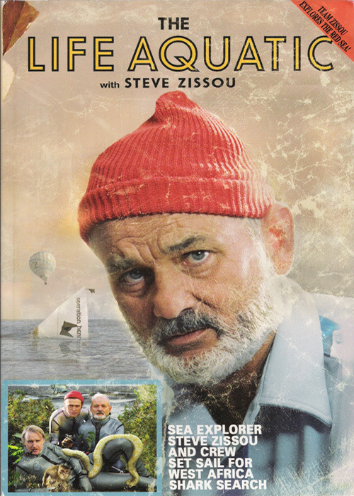 The Life Aquatic with Steve Zissou - A screenplay cover